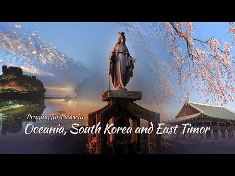 Praying For Peace In OCEANIA, S. KOREA And EAST TIMOR • September 14 • 19h(Brasília)/8 Am +1(Sydney)