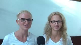 Małgorzata Hołub i Karolina Kołeczek w Amsterdamie