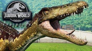 Jurassic World Evolution Gameplay German #33 - Killer Croc