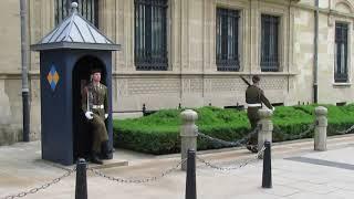 [LUSSEMBURGO] Cambio della guardia a Lussemburgo - Смена караула в Люксембурге