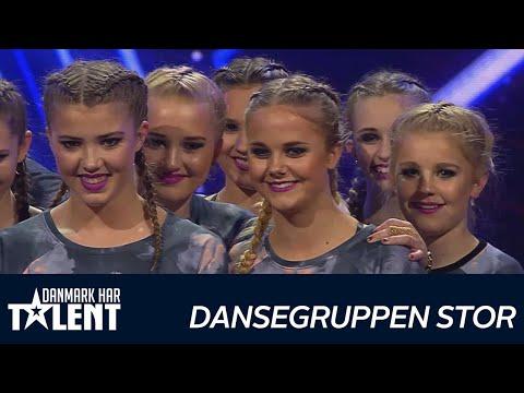 Dansegruppen STOR  - Danmark har talent - Live 1
