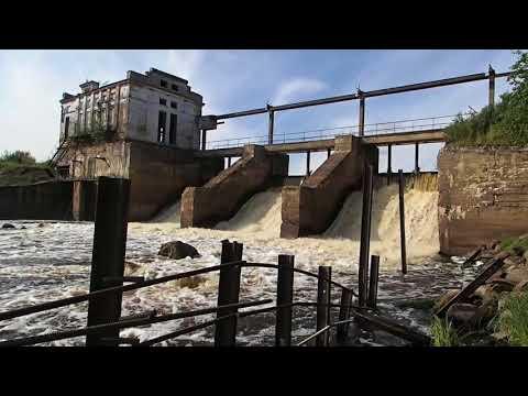 видео: Нижнеоредежская ГЭС (Ленинградская область)