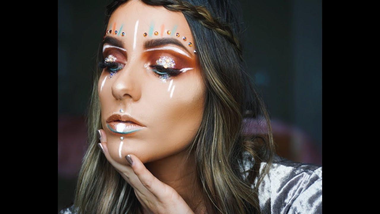 hippie makeup saubhaya makeup
