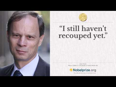 """""""I haven't recouped yet."""" Jean Tirole on being awarded the Economic Sciences Prize"""
