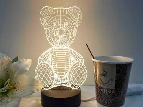 3D Table Lamp DIY