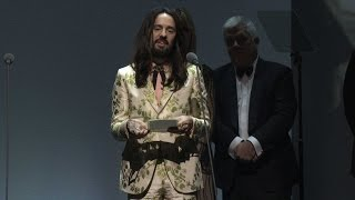Alessandro Michele for Gucci | International Designer of the Year | British Fashion Awards 2015