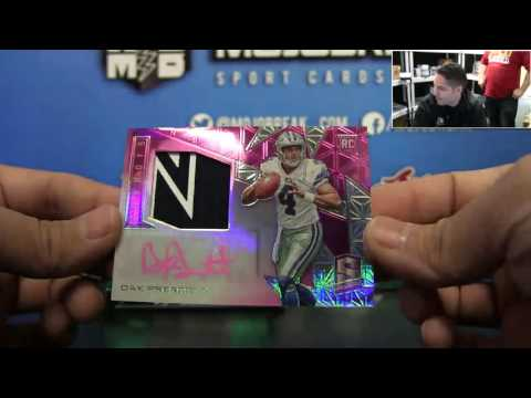 2016 Panini Spectra Football 4 Box Break #1