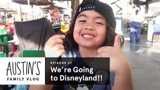 We're Going to Disneyland! | Austin Vlog | HiHo Kids