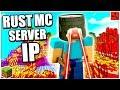 Rust MC: SERVER IP REVEAL! - Rust in Minecraft Update 2018 - NEW Minecraft Rust SERVER GAMEPLAY!