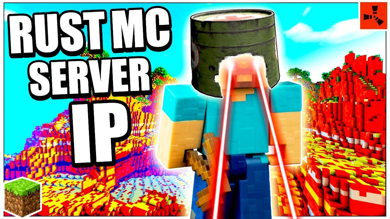 Rust MC: SERVER IP REVEAL! - Rust in Minecraft Update 2018 - NEW Minecraft  Rust SERVER GAMEPLAY!