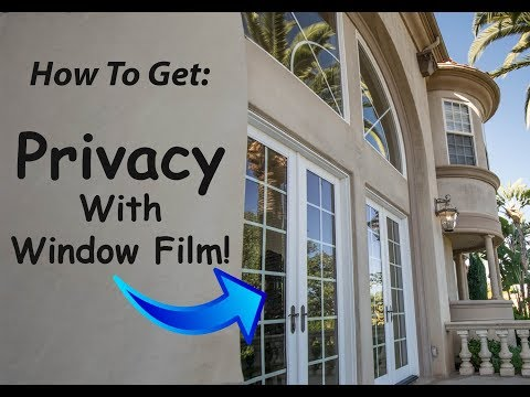 Privacy Window Film! | How It Works | Campbell Window Film