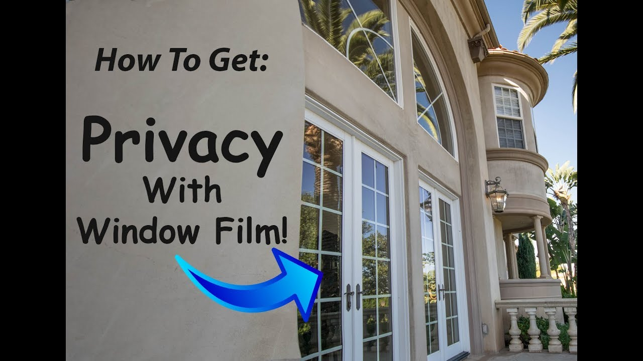 Privacy Window Film How It Works Campbell You