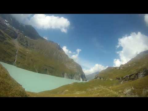 Lac de Mauvoisin le Valais à vélo  8ème étape 3ème partie