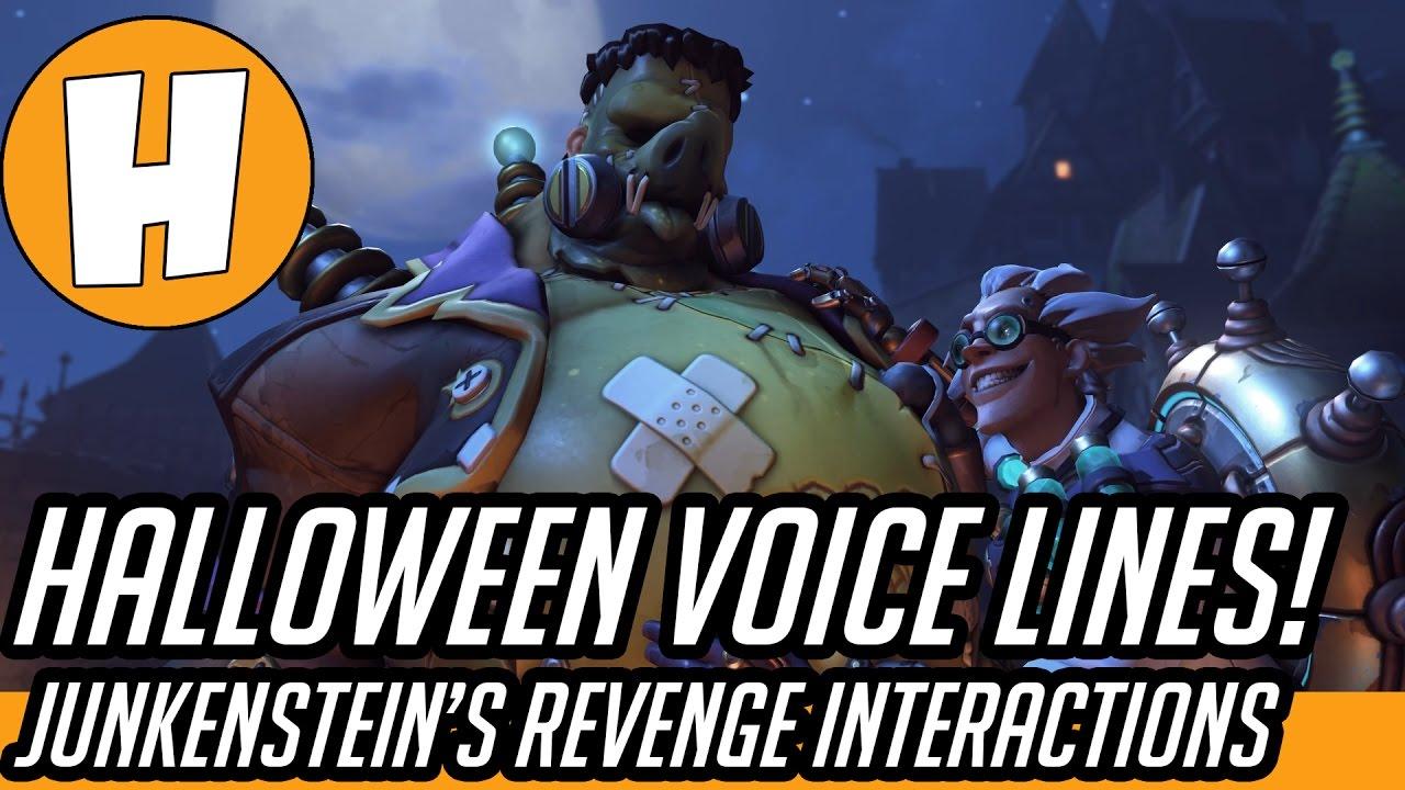 Overwatch Halloween 2020 New Voicelines Overwatch   Halloween New Brawl Interactions and Voicelines!   YouTube