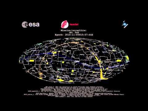 Herschel's 37.000 science observations - ESA's Herschel space observatory