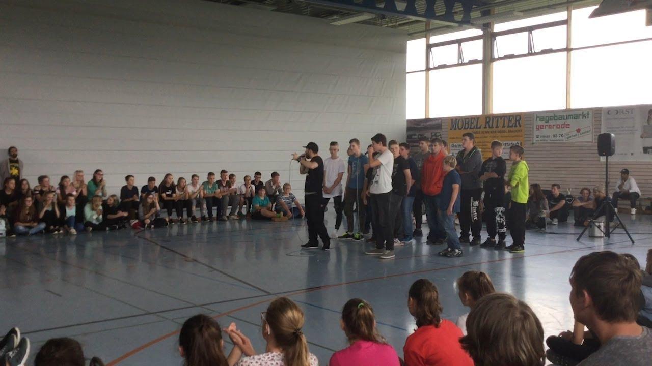 Instant Acts Gegen Rassissmus An Sekundarschule Hagenberg Gernrode