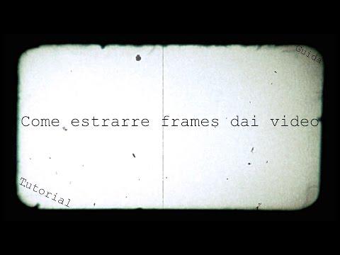 Come estrarre frames dai video con Adobe Premiere