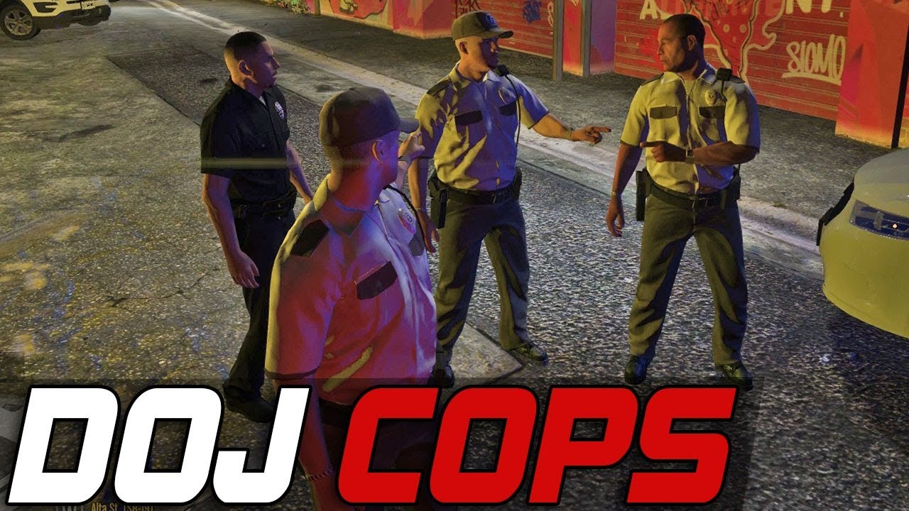 Dept. of Justice Cops #361 - Gruppe Security (Civilian)