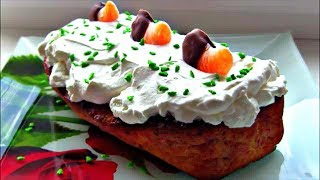 Мандариновый ( апельсиновый )  кекс  / Пирог с мандаринами / Новогодний рецепт