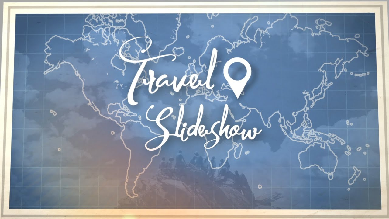 travel slideshow after effects template youtube