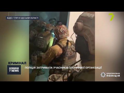 Новости 7 канал Одесса: Поліція затримала учасників транснаціональної злочинної організації