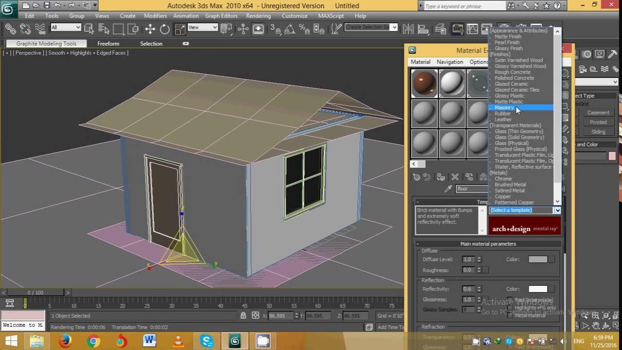 3ds Max Exterior Design Start Youtube