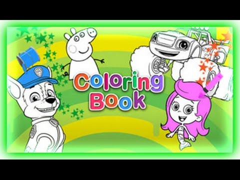Nick Jr. Coloring Book Game - YouTube