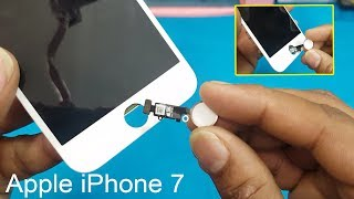 How to Replace Apple iPhone 7 - Touch ID / Home Button || Touch ID Failed Problem