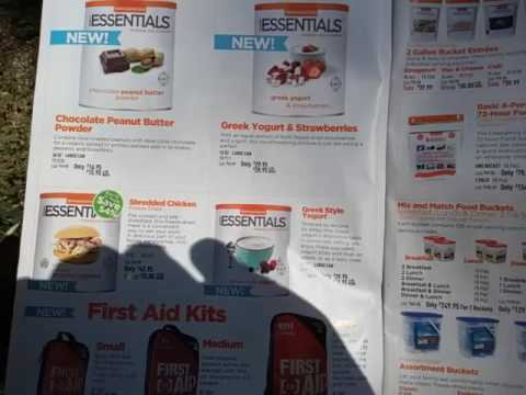 Emergency Essentials (Beprepared.com) July 2016 Catalog Commentary / Review - The Art of Prepping