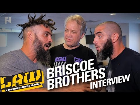THE BRISCOES on Sibling Rivalry, Bully Ray, NJPW | LAW INTERVIEWS