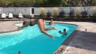 Best pool jump FAIL!
