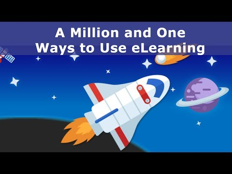 Webinar: A Million and One Ways to Use eLearning