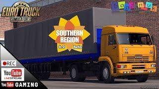 [REC][Live] ETS2, ч.1 Южный Регион 6.0