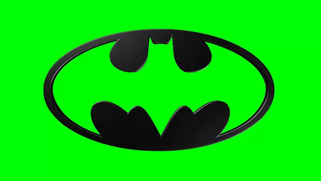 Green Screen Logo Batman 1 Black Youtube