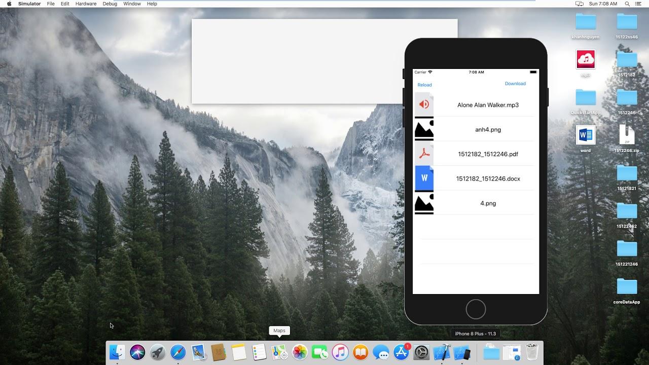 Demo simple google drive api in IOS swift
