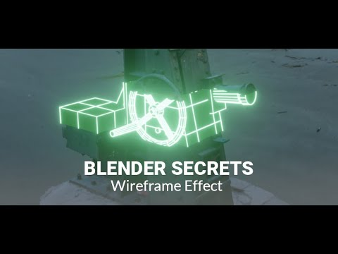 Daily Blender Secrets - Wireframe Effect