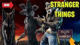 Fortnite Stranger Things Event EN direct! Stranger Things Gameplay Avec THE WOLF PACK LIVE!