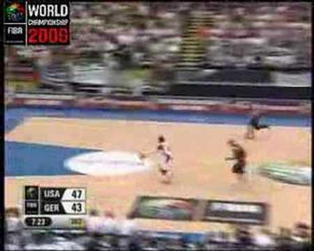 FIBA World Championship Japan 2006 - Germany vs. USA