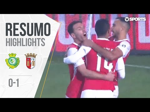 Highlights | Resumo: Setúbal 0-1 Braga (Taça de Portugal 18/19 1/8 Final)