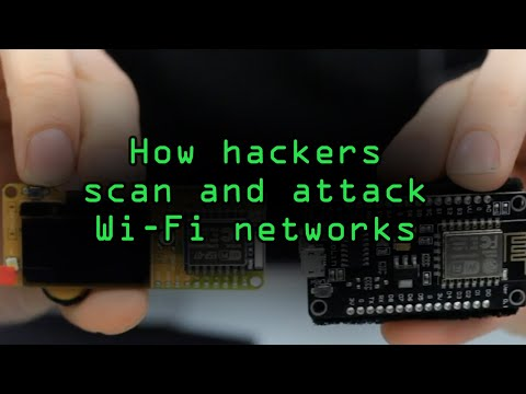 How Hackers Scan & Attack Wi-Fi Networks with Low-Cost Microcontrollers