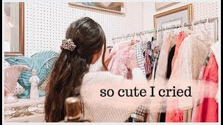 Come Vintage Shopping With Me! CUTEST Vintage Easter Haul