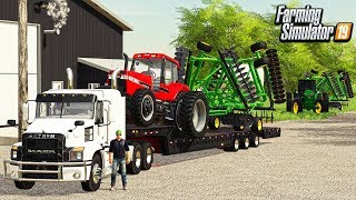 RAINY DAY AUCTION ($80,000) STEAL (ROLEPLAY) FARMING SIMULATOR 19