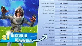 I WIN BY REMOVING ALL FORTNITE CONTROLS!! WINNING WITHOUT BUTTONS BYTARIFA GAIMING