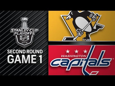 Guentzel, Crosby power Pens past Caps in Game 1
