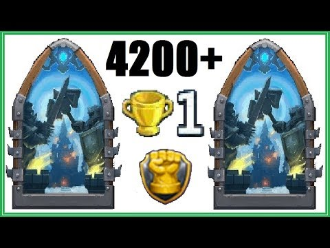 4200+ GW RECORD + EXCITING Base in Guild Wars Castle Clash 26.10.2017