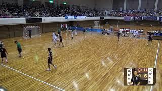 6日 ハンドボール男子 県営あづま総合体育館 昭和学院 x 小林秀峰 2回戦  2