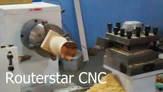 3.RS1530S-ATC CNC Lathe for wood vase turning cutting and inner cutting