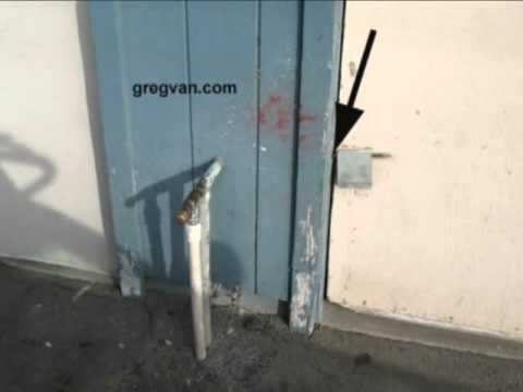 Garage Door secure garage door : Wood Garage Door Locking Problems - Building Security Tips - YouTube