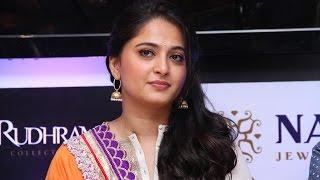 Anushka shares about NAC jeweller's Rudhramadevi collection