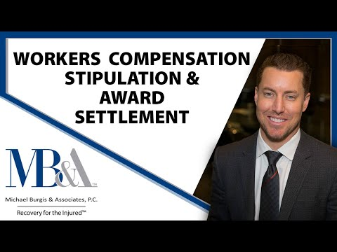 Stipulation and Award Settlement In Workers Compensation